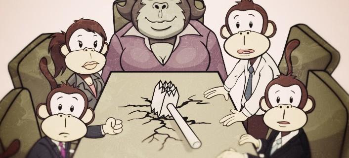 réunion d'équipe efficace
